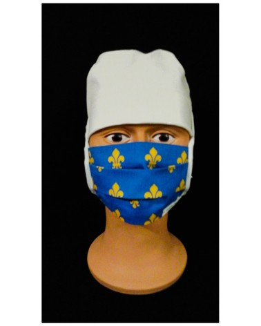 MASQUE CHIRURGICAL TISSU LYS ROYALE