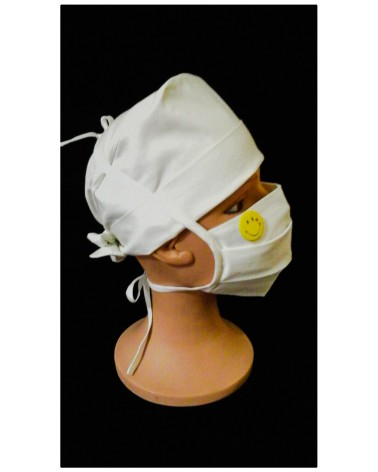 MASQUE CHIRURGICAL TISSU SMILEY